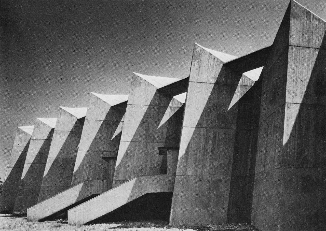 Brutalist Birthing Center